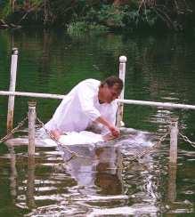Krstenje na Jordanu.
